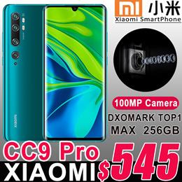 Xiaomi Mi CC9 Pro Smart Phone 100MP Penta Camera 5260 mah battery Snapdragon730G 10x Optical Zoom
