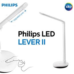 Philips 72087 Lever2 LED Table Lamp / Desk Floor Light Stand / Book study led light for room