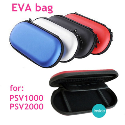 PS Vita Travel EVA Protective Case Hard Shell Bag Portable Trip Carry  Storage Pouch Shockproof wit