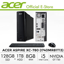 Acer Aspire XC-780 (i740MR81T13) Gaming Mini PC/Desktop