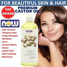 ❤ CASTOR OIL ❤ LOWEST PRICE IN QOO10!! 30ML (Tester) / 118ML / 473ML MULTI-PURPOSE Skin / Hair Care