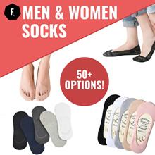 ⭐ Socks ALL UNDER $1 ⭐Men / Women Socks / Ankle Socks / Invisible Socks (MANY DESIGNS)