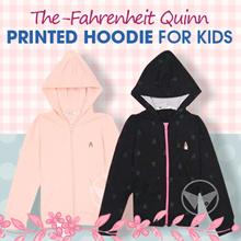 The-Fahrenheit Quinn Printed hoodie for kids