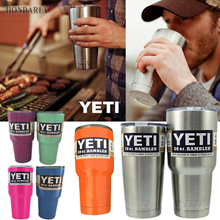 YETI Rambler Tumbler Cooler Cup Vacuum Insulated Vehicle Coffee Beer Mug Cups