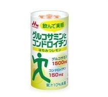 森永 グルコサミンとコンドロイチン125ml×18本【1ケース】