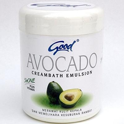 Good Good Cream Bath Avocado AVOCADO 250 g 【BALI Balocosume Beauty Salon  Head Spa Spar Scalp Massage Relaxation】 [Parallel import goods]