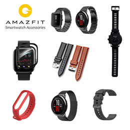Amazfit BIP/STRATOS3/T-REX/GTS Smart Watch Screen Protector | Strap | Protective Cover | Accessories