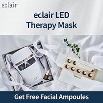 [NEW KOREA LED MASK] eclair LED Therapy Mask / Easy Home Care / 15 Minutes Skin Care