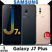 SAMSUNG GALAXY J7 PLUS * 32GB+4GB * DUAL CAMERA * 5.5-INCH SCREEN * 1 YEAR SG WARRANTY