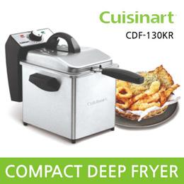 Cuisinart COMPACT DEEP FRYER CDF-130KR