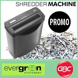 GBC Straight-cut Shredder Alpha Ribbon