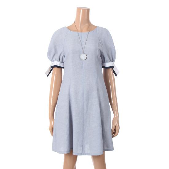 シシコレクト端麗なフレアワンピースネックレスC172MSE052 面ワンピース/ 韓国ファッション