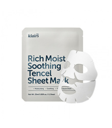 [KLAIRS] Rich Moist Soothing Tencel Sheet Mask 10+1