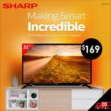 SHARP 32INCH LED TV LC-32LE185M / LC-32LE280X(DTV) / PHILIPS 32PHT4002(DTV) // FREE SHIPPING !