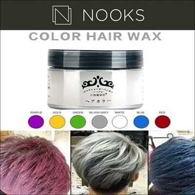 Qoo10 color hair wax hair care crazy salejapan colour hair wax silver ash washable hair dye wax solutioingenieria Image collections
