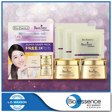 [Bio Essence]Bird Nest+Peptides EssenceInCream 50g+Bouncy Overnight Mask 50g+Nutri-Coll Mask Whi 3pc