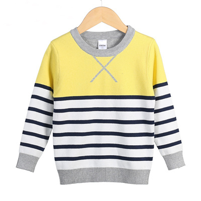 Boys Knitted Sweater Striped Autumn Children s-clothing-importers Baby Boy  Knitwear Kids Clothes Pol