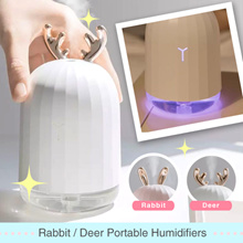 *Bestseller* 2018 New Rabbit Portable Humidifier with Deer Design Available
