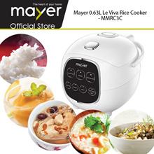 MAYER LE VIVA 0.63L Rice Cooker (MMRC3C)/ Baby Porridge/ Brown Rice