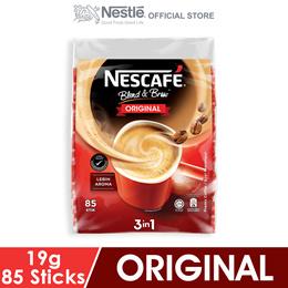 NESCAFE Blend and Brew Original 85 Sticks 19g Each