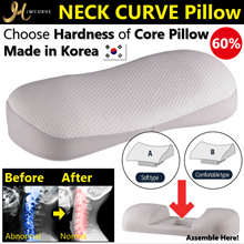 NEW![Jmcurve]Neck Curve Pillow/Designed by Doctors/Cervical,Neck Pain/Choose Core Pillow/Made Korea