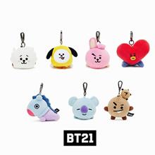 【BT21】 Soft Plush Lying Bag Charm 11cm / BT21 official / BT21 goods / BTS