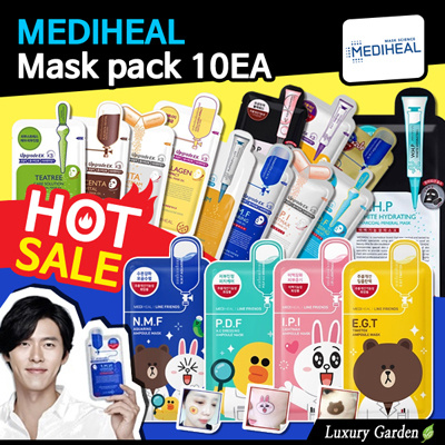 Buy [MEDIHEAL] ?Low Price Chance? Mask pack 10pcs SET SALE/Korea Face Mask Sheet Line Friends/ampouel Deals for only S$16.5 instead of S$0