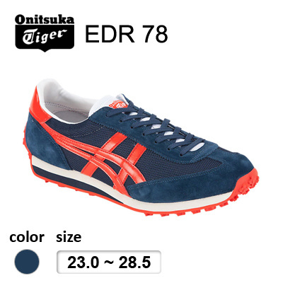 check out 4ca2c b8023 Onitsuka Tiger(Japan Release) EDR 78 Navy*Red / only available in JAPAN /