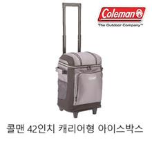 [Coleman] Coleman 42 inch Carrier Type Ice Box / Coleman 42-Can Wheeled Soft Cooler With Hard Liner / Ice Box