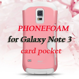 [MUST HAVE]PHONEFOAM Golf Air BumperCase for Galaxy Note3/Gal Note3/Note III/Card Holder
