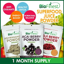 [LAST DAY!] 50 New Flavors★Superfood Juice Powder★100% Pure Antioxidant Berries / Fruits★Weight Loss Detox
