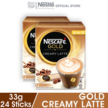 NESCAFE Gold Creamy Latte 12 Sticks 33g x2 packs