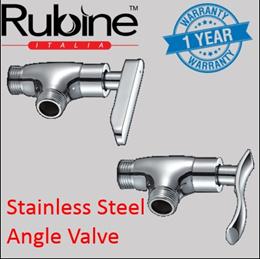 Rubine Angle Valve For Bidet Set/ Bathroom Tap/ Shower Head/1yr onsite warranty