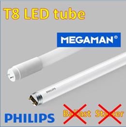 LED T8 tube/ Megaman/ Philips LED for Cove light 4ft/ Fluorescent tube replacement