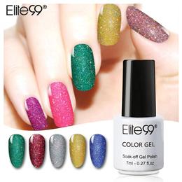 a0965d7565b 7ml Neon Bling Nail Lacquer Finger Color Glitter Shining Nail Polish Nail  Art Manicure Vernis Long