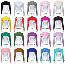Fashion Hayaa One Piece Sleeves Arm Cover Shrug Bolero Hijab Muslim 20 Colors