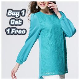 ★MYSHA WEEKLY OFFER 60% OFF★ Dress Ladies Long Fashion Maxi Muslimah