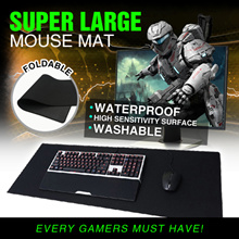 ⏰⚡💪【2 Size】Super Large Mouse Mat ◆ Office Desk Pad ◆ Gaming Pad ◆ Every Gamers Must Have!