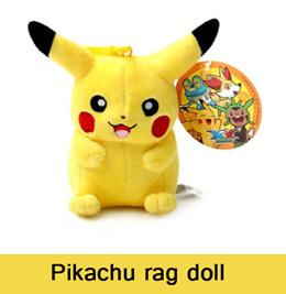 pokemon XY character rag doll 12cm/20cm/30cm Pikachu