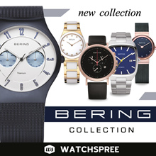 *BERING GENUINE* Bering Watches Collection for Men and Women. Free Shipping!