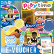 ☆Play Time☆ 60% off Tiket Masuk Play Time Seluruh Indonesia/Weekday/weekend/libur/Mobile voucher only
