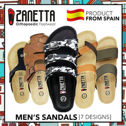 [ZANETTA Men Sandals]★EXCLUSIVE DEAL★ Spain Products ★ ALL SPAIN DESIGNS ★