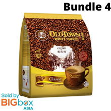 [BUNDLE 4] OLDTOWN White Coffee 3in1 Classic 38g x 15sticks