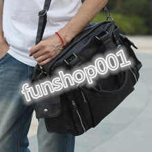 New leisure big bag diagonal package casual shoulder bag man bag computer bag  handbag business brief f8dfca11aa