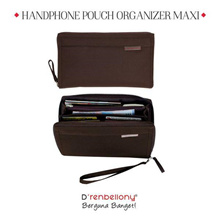 Handphone Pouch Organizer Maxi HPO Maxi Brown
