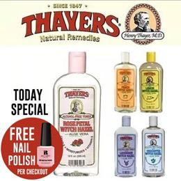 Distributor (alcohol-free) Thayers Witch Hazel Facial Toners with Aloe Vera Formula 12 fl oz 355 ml