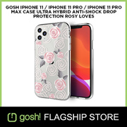 Gosh Phone 11 /  iPhone 11 Pro / iPhone 11 Pro Max Hybrid Protective Case Rosy Loves