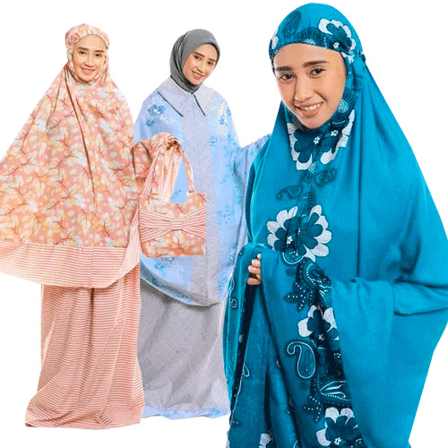 Mukena Cantik Zaman Now Deals for only Rp75.000 instead of Rp197.368