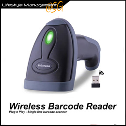 Wireless Barcode Scanner/Reader Office/Home/Warehouse Package Bar Code