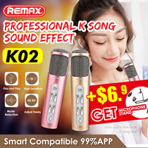 ☆BEST SELLER*REMAX KTV Microphone K02 iOS Android Sing Along Player Speaker
